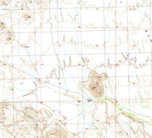 USGS TOPO Map Arizona AZ Palomas Mountains SE 312759 1990 24000 Sticker