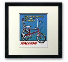 Raleigh Chopper Bicycle UK Framed Print