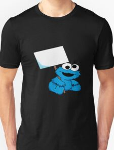 baby cookie monster tattoo Unisex T-Shirt