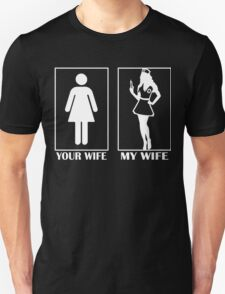 I'm proud to say : My wife is a Nurse Unisex T-Shirt