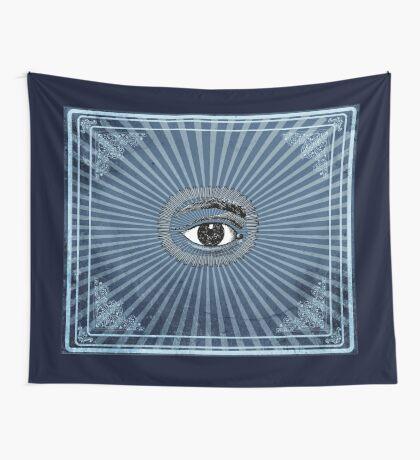 Vintage All Seeing Eye Wall Tapestry