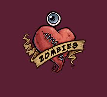 I Love Zombies... with Blood Unisex T-Shirt