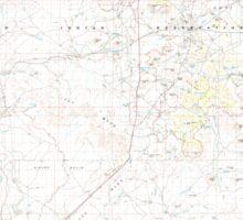 USGS TOPO Map Arizona AZ Winslow 315325 1982 100000 Sticker