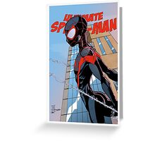 Ultimate Spider-Man Variant Edition Greeting Card
