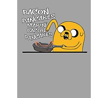Makin' Bacon Pancakes Photographic Print