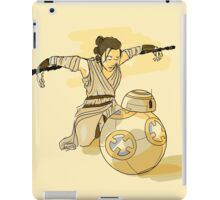 Rey and BB8 iPad Case/Skin