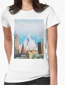 Elevation Of Cleveland  Womens Fitted T-Shirt