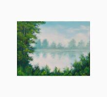 Classic River Scene Landscape Unisex T-Shirt