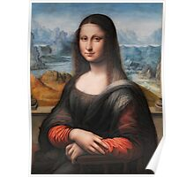 Highest Quality Mona Lisa in HDR Restored by LarcenIII Poster