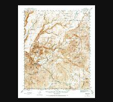 USGS TOPO Map Arizona AZ Bagdad 314351 1945 62500 Unisex T-Shirt