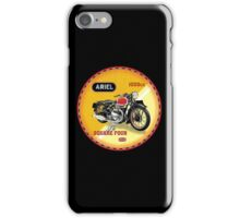 Ariel Square Four Motorcycles UK iPhone Case/Skin