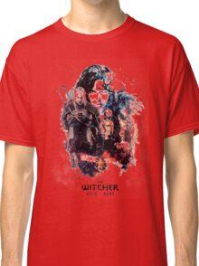 THE WITCHER WILD HUNT LOGO RBTR Classic T-Shirt