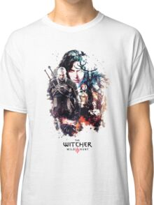 THE WITCHER WILD HUNT LOGO RBTR Classic T-Shirt