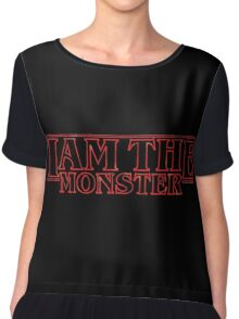 I Am The Monster Chiffon Top