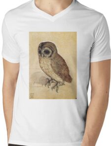 Albrecht Durer - The Little Owl 1506  Mens V-Neck T-Shirt