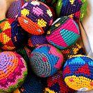 """Knitted Hackey-Sack Balls"" by waddleudo"