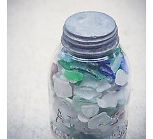 Beach Glass Collection Photographic Print