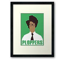 IT Crowd PLOPPERS! Framed Print