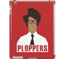 IT Crowd PLOPPERS! iPad Case/Skin