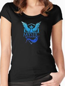 Men's Game Of Thrones And Pokemon Mystic 3XL Asphalt Women's Fitted Scoop T-Shirt