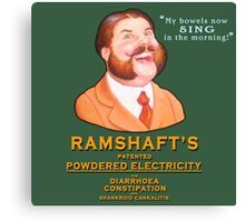 Ramshaft's Powdered Electricity Canvas Print