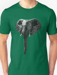 SAFARI PROFILE - ELEPHANT BLACK EDITION Unisex T-Shirt
