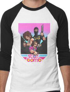 Starbomb Men's Baseball ¾ T-Shirt