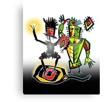 clan tribe vibe Canvas Print