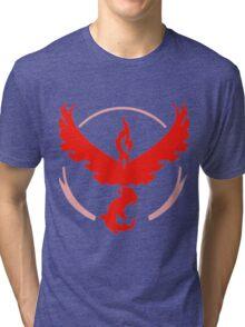 Valor logo - Plain Tri-blend T-Shirt