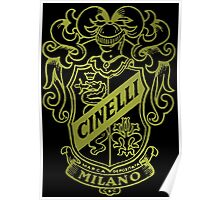 Cinelli Vintage Bicycles Italy Poster