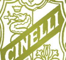 Cinelli Vintage Bicycles Italy Sticker