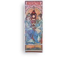 Alphonse Mucha - Benedictine Canvas Print