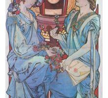 Alphonse Mucha - Benedictine Sticker