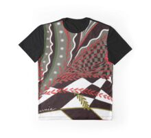 checked Graphic T-Shirt