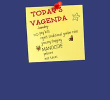 Today's Vagenda Unisex T-Shirt