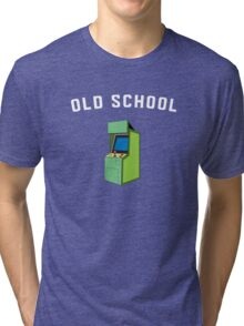 Vintage Game Machine Tri-blend T-Shirt