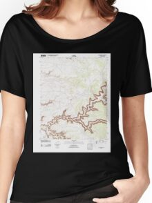 USGS TOPO Map Arizona AZ Del Muerto 20111026 TM Women's Relaxed Fit T-Shirt