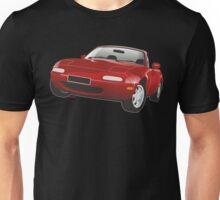 Mazda MX-5 Miata red Unisex T-Shirt
