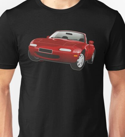 Mazda MX-5 Miata red Unisex T-Shirt