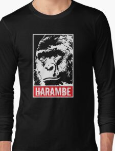 Harambe - Rest in Peace Long Sleeve T-Shirt