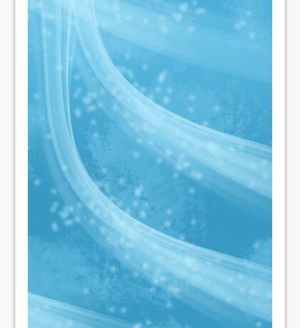 Icey Blue Sticker