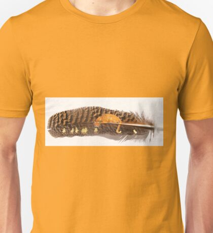 Orange Cat Watching Unisex T-Shirt