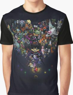 Undertale HD Graphic T-Shirt