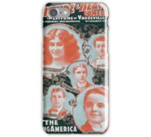 Performing Arts Posters McIntyre Heaths Comedians the epitome of vaudeville 0354 iPhone Case/Skin