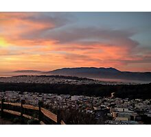 Sunset from Turtle Hill Photographic Print