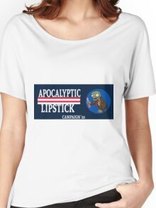 Apocalyptic Lipstick Campaign- TLSP Women's Relaxed Fit T-Shirt