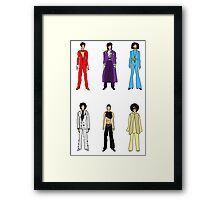 Retro Vintage Fashion 18 Framed Print