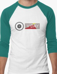 Support V-Day Men's Baseball ¾ T-Shirt