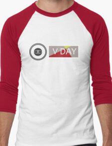 Support V-Day Men's Baseball ¾ T-Shirt