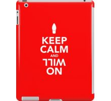 Keep Calm and Will On, Stranger Things iPad Case/Skin